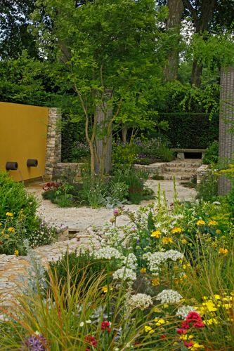 Criado por Cleve West, o jardim patrocinado pelo jornal Daily Telegraph venceu a medalha de ouro na categoria