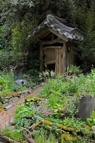 Criado por Jihae Hwang (Muum), o jardim