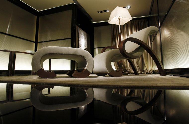 1d0ccc1e5 A Armani Casa lançou sua nova coleção paralelamente ao Salão Internacional  do Móvel de Milão Reuters Mais