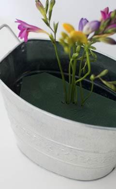 5 - Espete as flores