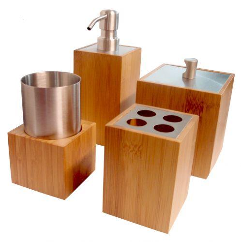 Banheiro acessórios para incrementar a decoração  Casa e Decoração  UOL Mu -> Kit Acessorios Pia De Banheiro