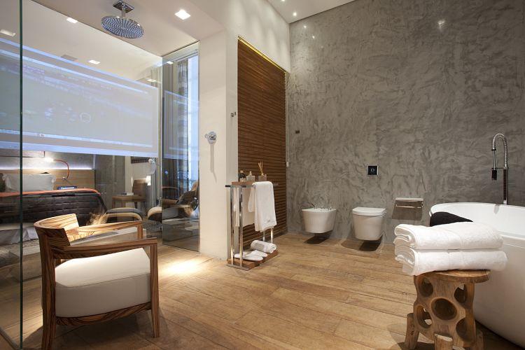 Banheiros inspiradores e diferentes são destaques das Casas Cor e -> Banheiro De Hotel Com Banheira