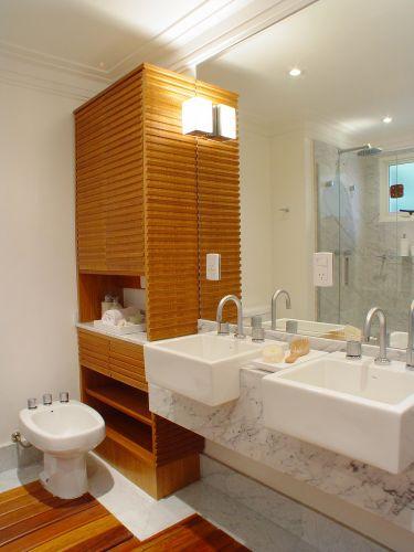 Banheiros Decorados Com Duas Cubas : Banheiros projetos que v?o muito al?m do chuveiro casa