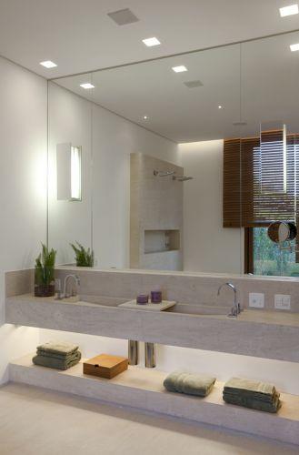 uol decoracao lavabo: 27 projetos para banheiros de sonho – Casa e Decoração – UOL Mulher