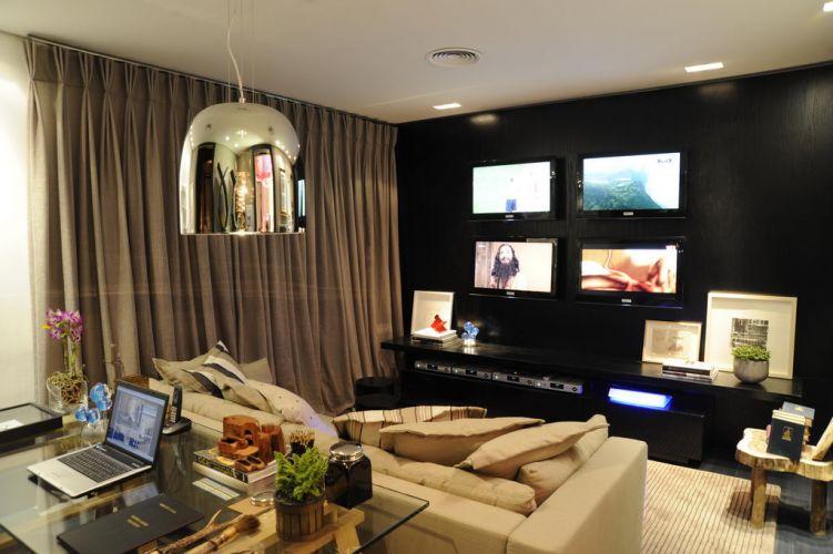 Home Office Sala De Tv ~ Mostra veja ambientes da Casa Cor Minas Gerais 2010  Casa e
