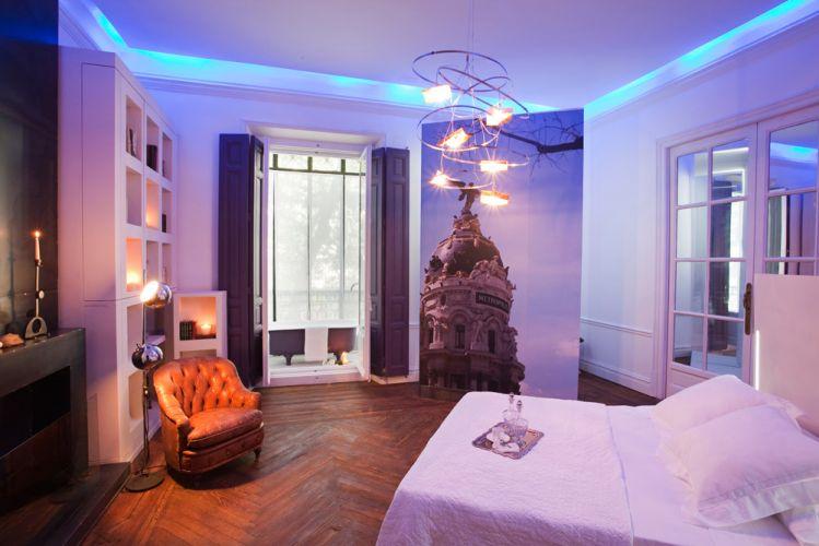 O trabalho de interiores do dormitório ganhou de seus criadores, de Cuca García e Ricardo de la Torre, o título
