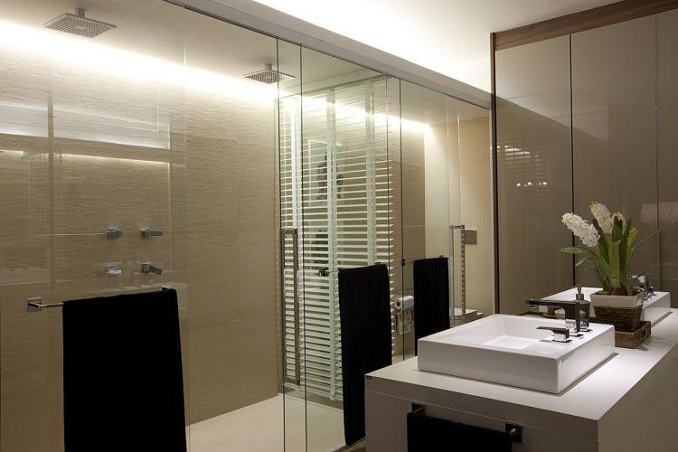 Casa Cor SP banheiros e suítes da mostra  Casa e Decoração  UOL Mulh -> Banheiro Decorado Com Vaso Sanitario Preto