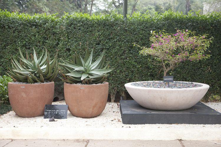Jardim dos Cactos, criado por Marcelo Bellotto, concentra vegetais exóticos e rústicos. A Casa Cor SP fica aberta até dia 17 de julho de 2011, no Jockey Club de São Paulo