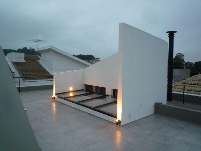 terraco jardim detalhe:Detalhe do terraço-jardim da Casa Mirante do Horto, projeto de