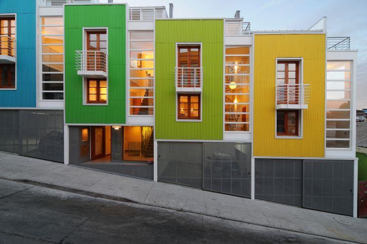 Guarda corpo veja ideias para sacadas mezaninos e for Loft modernos exterior