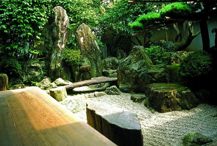imagens jardim japones : imagens jardim japones:Exemplo de jardim contemporâneo, o Yoro Tenmei Park, na cidade de