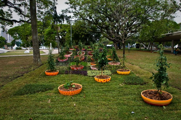 O Festival de Jardins do MAM pode ser visitado entre 22 de setembro a 31 de dezembro de 2010. Na foto, o jardim de Christine e Michel Pena. O casal de paisagistas franceses criou o 