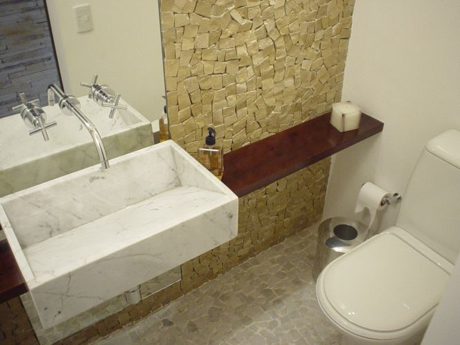 uol decoracao lavabo:Lavabo Casa.com