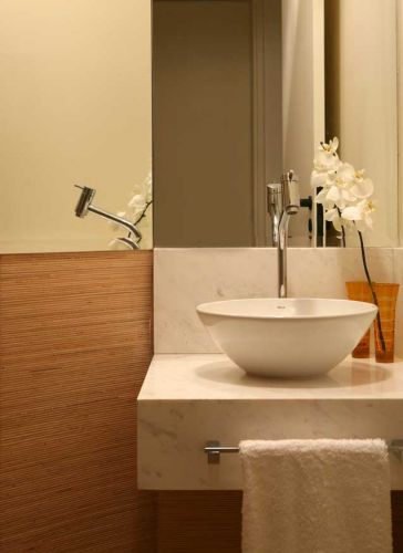 uol decoracao lavabo:Lavabos: veja projetos charmosos para esses pequenos espaços – Casa e