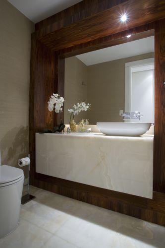uol decoracao lavabo:Revestimento Para Lavabo O