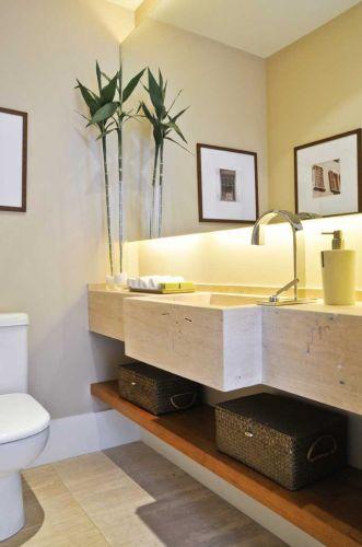 uol decoracao lavabo:Mulher Casa e Decoração
