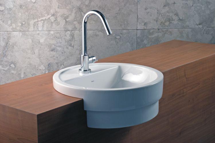 Banheiros confira uma seleção de cubas, vasos sanitários e bidês  Casa e De -> Cuba Para Banheiro De Semi Encaixe Branca Icasa