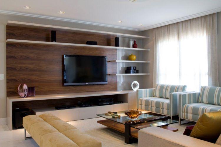 Sala De Tv Com Home Theater ~ UOL Mulher Casa e Decoração