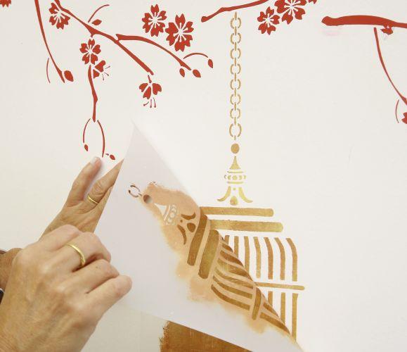 Paulo bau uol - Moldes para pintar paredes ...