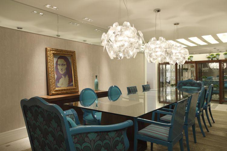 Sala de Jantar projetada por Margareth Villela e Frederico Villela para a exposição
