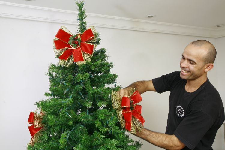 decoracao arvore de natal passo a passo:Decoracao Para Arvore De Natal