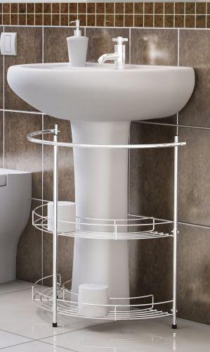 Divulgação -> Organizador Multiuso Para Pia De Banheiro