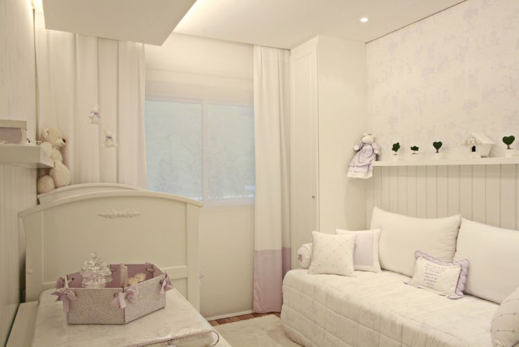design interiores decoracao quarto bebe : design interiores decoracao quarto bebe: -interiores-quarto-menina-bebe-delicada- home bedroom girl pastels