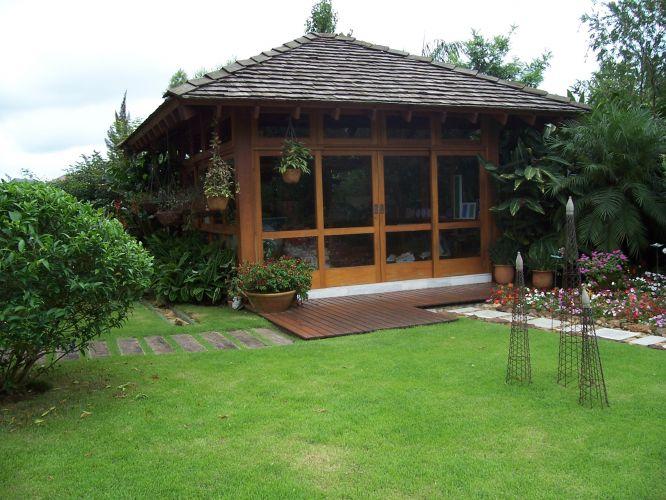 gazebo jardim madeira:Projeto – Rodolfo Geiser – Casa Tamboré – Barueri (SP) – Casa e
