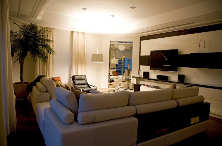 Decoracao De Sala De Tv Media ~ Sala De TV # decoracao sala home theater fotos