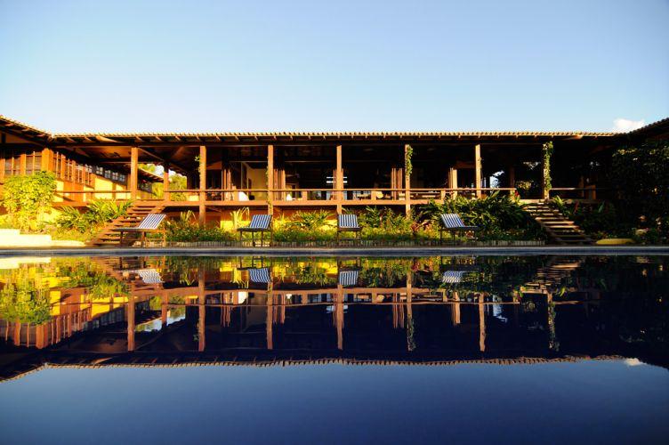 A casa de veraneio em Trancoso (BA) tem 600 m2 e projeto de design de interiores assinado por Cortney e Robert Novogratz, do escritório nova-iorquino Sixx