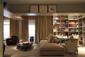 Ambientes integrados e com uso específico conferem flexibilidade ao apartamento - Tuca Reinés / Divulgação