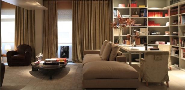 decoracao de ambientes pequenos e integrados : decoracao de ambientes pequenos e integrados:Ambientes integrados e com uso específico conferem flexibilidade ao