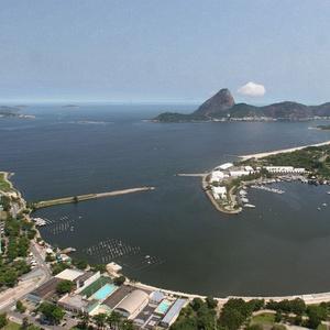 Visão da Marina da Glória, que receberá o primeiro grande evento da Copa do Mundo de 2014