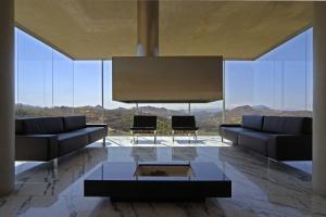 No ponto mais alto do terreno, casa tem vista para a Serra do Curral, em Minas - Eduardo Eckenfels / Divulgação