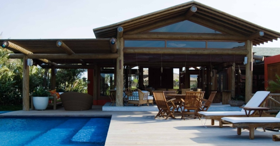 Casa no condomínio Terra Vista Vila Golf, situado em Trancoso, BA, com projeto arquitetônico de David Bastos