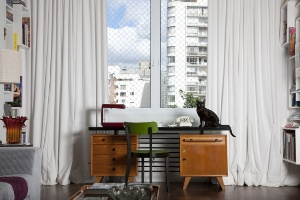Projeto de decoração recupera linhas art déco de apartamento de 270 m² em São Paulo - Marco Pinto / Divulgação