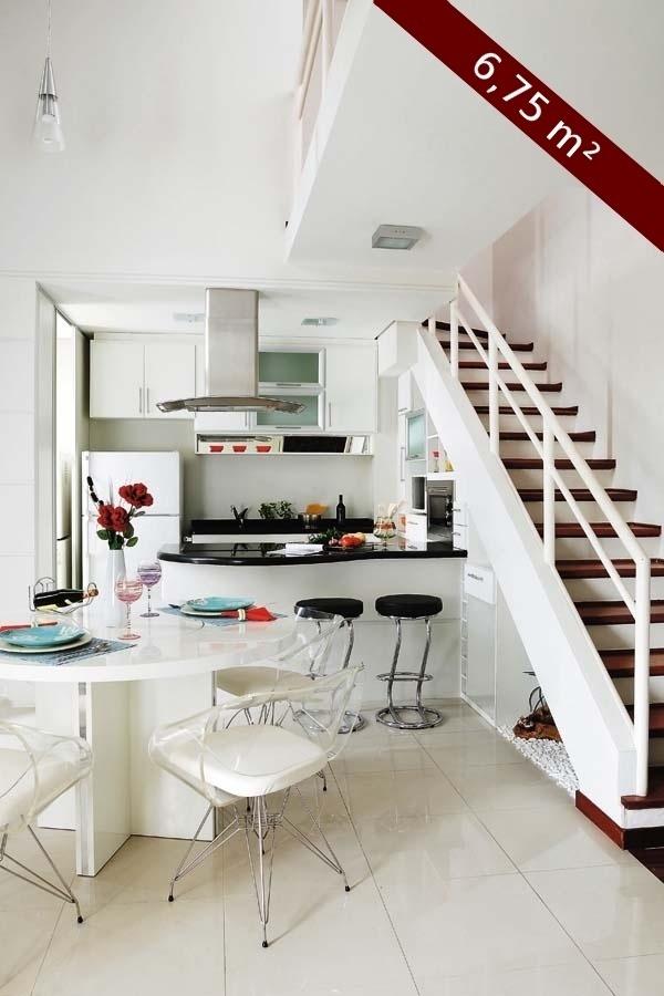 Cozinha projetada pela arquiteta Luciane Zulian