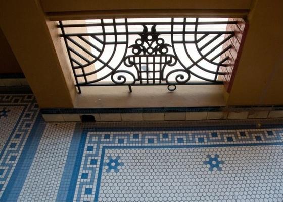 decoracao de interiores estilo art deco:Detalhe do estilo arquitetônico art déco em edifício na Avenida