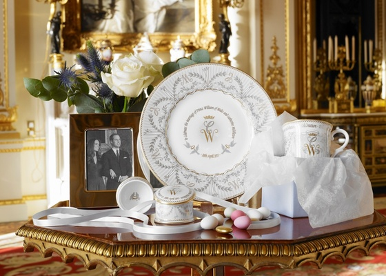 decoracao do casamento de kate middleton : decoracao do casamento de kate middleton:de porcelana comemorativa do casamento do príncipe William com Kate