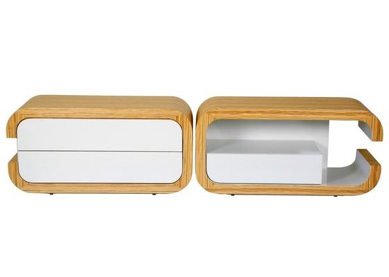 O rack ideal deve ter espa�o para acomodar a TV e, principalmente, nichos e gavet�es para guardar DVDs, cabos e outros acess�rios. Na foto, o modelo Kiss, da loja A Especialilsta.