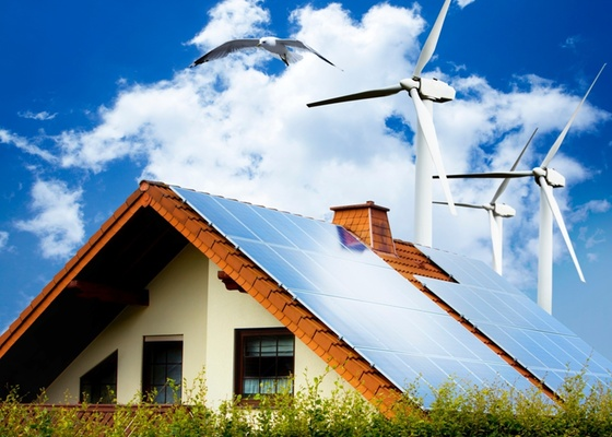 A energia e�lica, obtida dos ventos, � uma das principais fontes de energia limpa. Geradores residenciais ainda s�o pouco utilizados, mas a solu��o deve ganhar for�a nesta nova d�cada