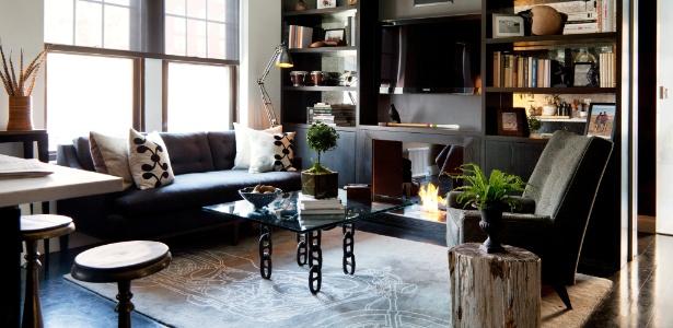 """decoracao de apartamentos pequenos de luxo:pequeno apartamento de Manhattan em """"quarto de hotel de luxo"""