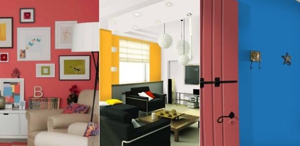 Empresas apostam em cores quentes e intensas e combinações contrastantes para 2012