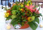 Arranjos de flores renovam o ambiente
