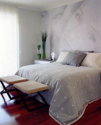 A impressão da Tergoprint enfatiza a intimidade do espaço compartilhado pelo casal