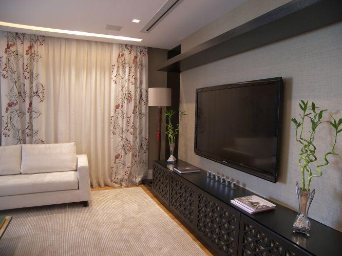 Cortinas Para Sala De Estar Branca ~ Cortinas e persianas veja modelos de vários preços  Casa e