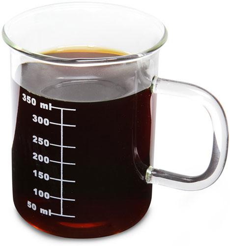 Caneca beaker de laboratório