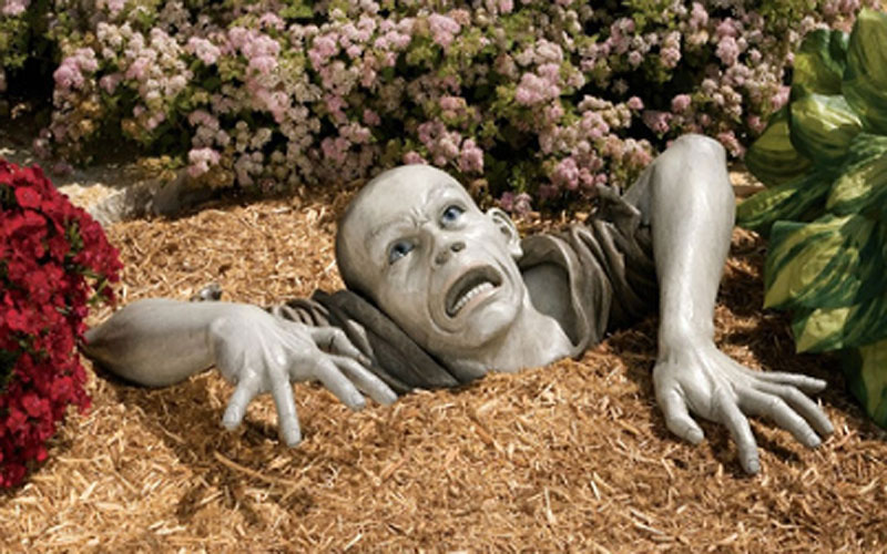 Zumbi de jardim