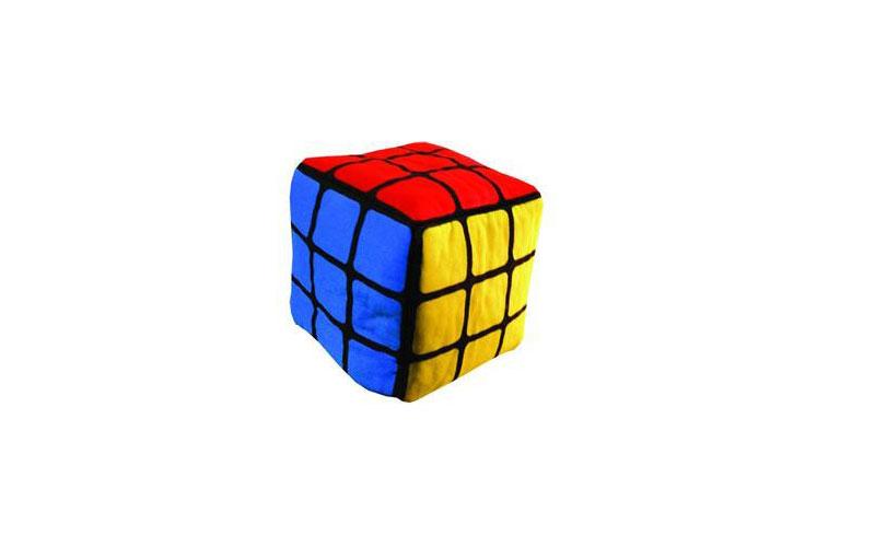 Cubo de Rubik de pelúcia