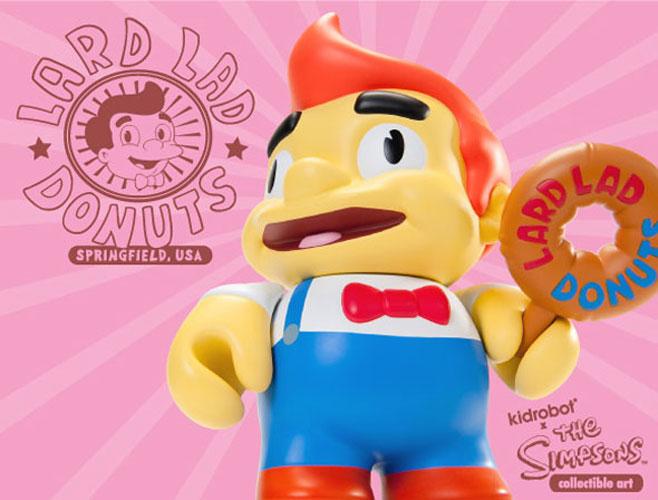 Boneco Lard Lad, dos Simpsons